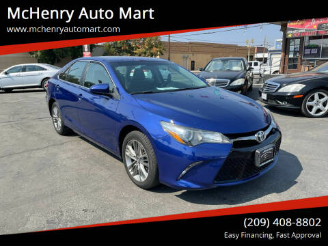 2016 Toyota Camry for sale at McHenry Auto Mart in Turlock CA