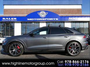 2020 Audi Q8 for sale at Highline Group Motorsports in Lowell MA