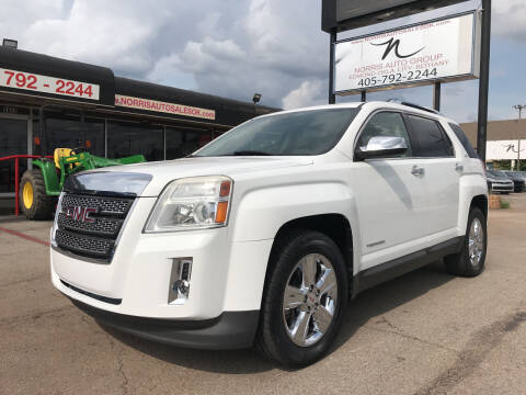 2015 GMC Terrain for sale at NORRIS AUTO SALES in Oklahoma City OK