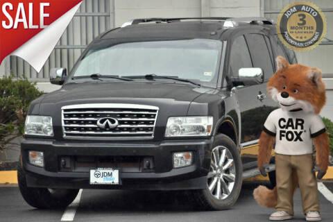 2008 Infiniti QX56 for sale at JDM Auto in Fredericksburg VA