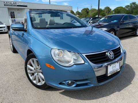 2010 Volkswagen Eos for sale at KAYALAR MOTORS in Houston TX