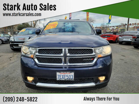 2012 Dodge Durango for sale at Stark Auto Sales in Modesto CA