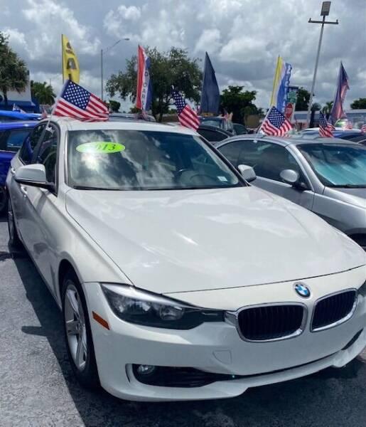 2013 BMW 3 Series for sale at Navarro Auto Motors in Hialeah FL