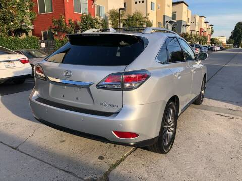 2015 Lexus RX 350 for sale at Bell Auto Inc in Long Beach CA