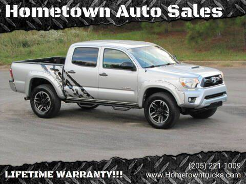 2013 Toyota Tacoma for sale at Hometown Auto Sales - Trucks in Jasper AL