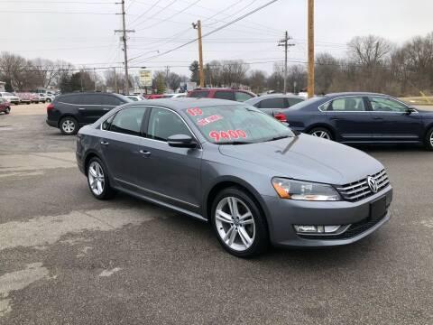 2013 Volkswagen Passat for sale at Bob's Imports in Clinton IL