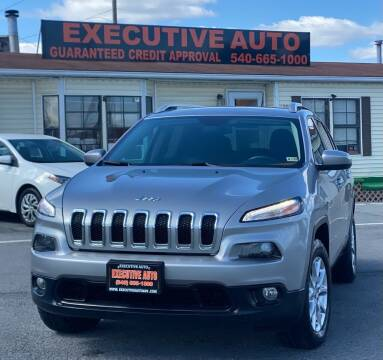 2014 Jeep Cherokee for sale at Executive Auto in Winchester VA