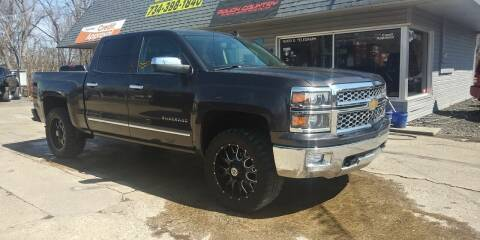 2014 Chevrolet Silverado 1500 for sale at Kevin Lapp Motors in Plymouth MI