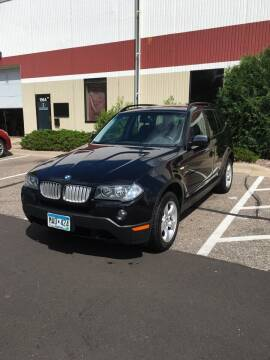 2008 BMW X3 for sale at Specialty Auto Wholesalers Inc in Eden Prairie MN