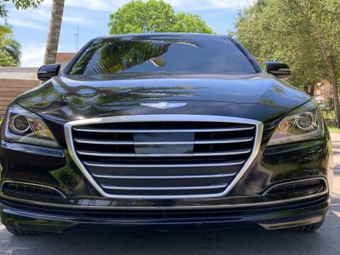 2015 Hyundai Genesis for sale at HIGH PERFORMANCE MOTORS in Hollywood FL