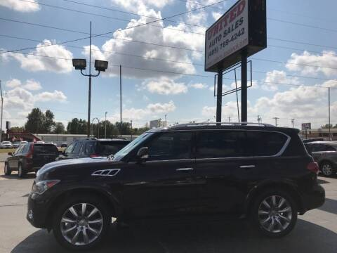 2013 Infiniti QX56 for sale at United Auto Sales in Oklahoma City OK