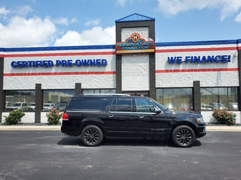 2017 Lincoln Navigator L for sale at Ultimate Auto Deals DBA Hernandez Auto Connection in Fort Wayne IN
