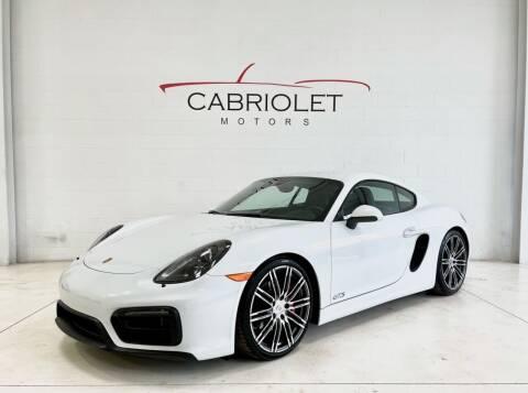 2015 Porsche Cayman for sale at Cabriolet Motors in Morrisville NC