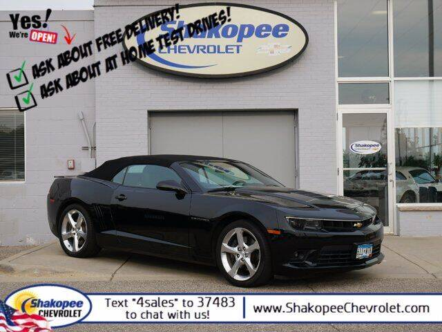 2015 Chevrolet Camaro for sale at SHAKOPEE CHEVROLET in Shakopee MN