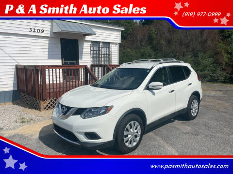 2016 Nissan Rogue for sale at P & A Smith Auto Sales in Garner NC