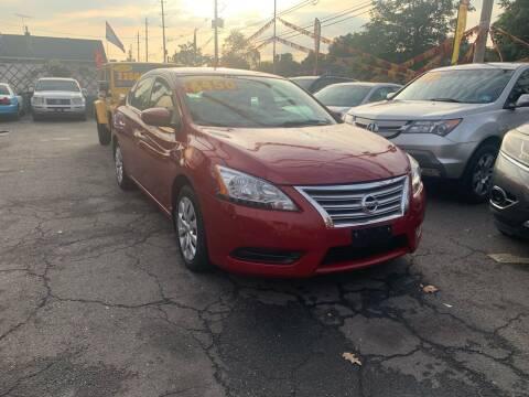 2014 Nissan Sentra for sale at Metro Auto Exchange 2 in Linden NJ