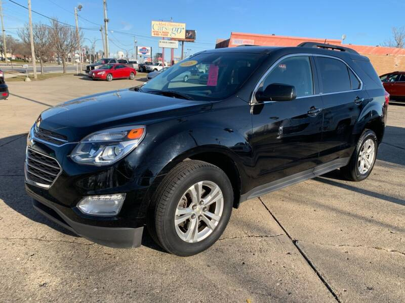 2016 Chevrolet Equinox for sale at Cars To Go in Lafayette IN