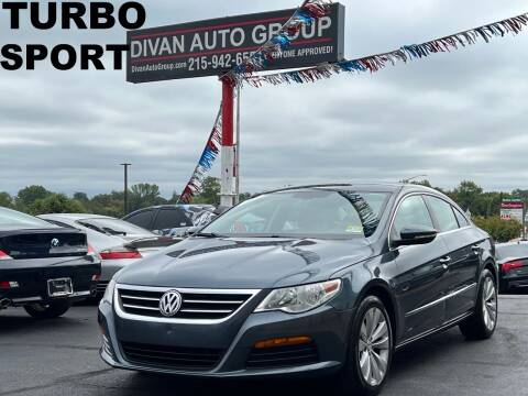 2011 Volkswagen CC for sale at Divan Auto Group in Feasterville Trevose PA