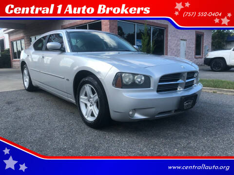 2010 Dodge Charger for sale at Central 1 Auto Brokers in Virginia Beach VA
