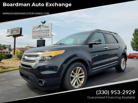 2013 Ford Explorer for sale at Boardman Auto Exchange in Youngstown OH