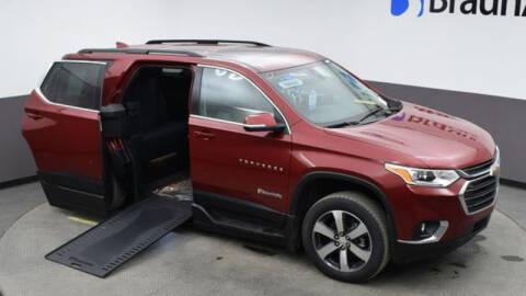 2021 Chevrolet Traverse for sale at A&J Mobility in Valders WI