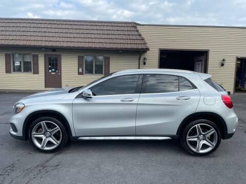 2015 Mercedes-Benz GLA for sale at MAGNUM MOTORS in Reedsville PA