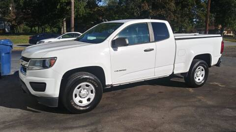 2016 Chevrolet Colorado for sale at MotorCars LLC in Wellford SC