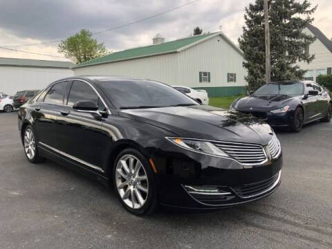 2016 Lincoln MKZ for sale at Tip Top Auto North in Tipp City OH