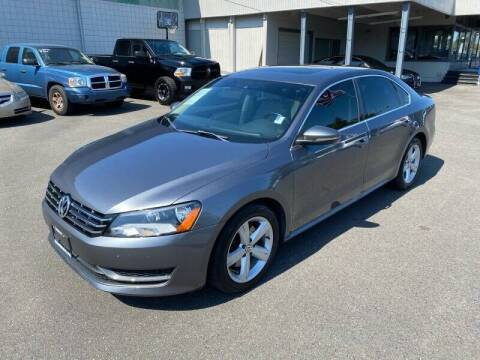 2012 Volkswagen Passat for sale at TacomaAutoLoans.com in Tacoma WA