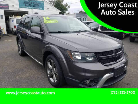 2016 Dodge Journey for sale at Jersey Coast Auto Sales in Long Branch NJ