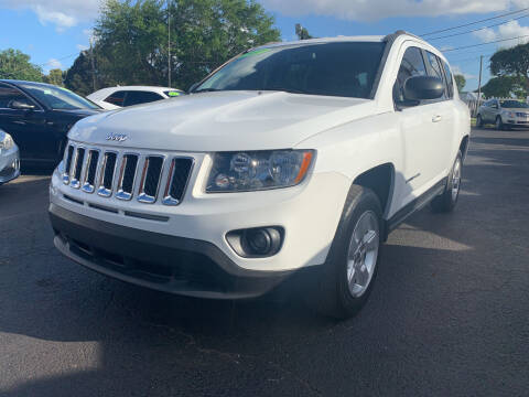 2017 Jeep Compass for sale at Bargain Auto Sales in West Palm Beach FL