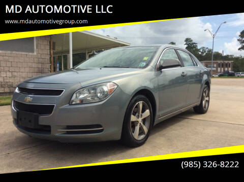 2009 Chevrolet Malibu for sale at MD AUTOMOTIVE LLC in Slidell LA
