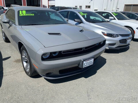 2018 Dodge Challenger for sale at Guy Strohmeiers Auto Center in Lakeport CA