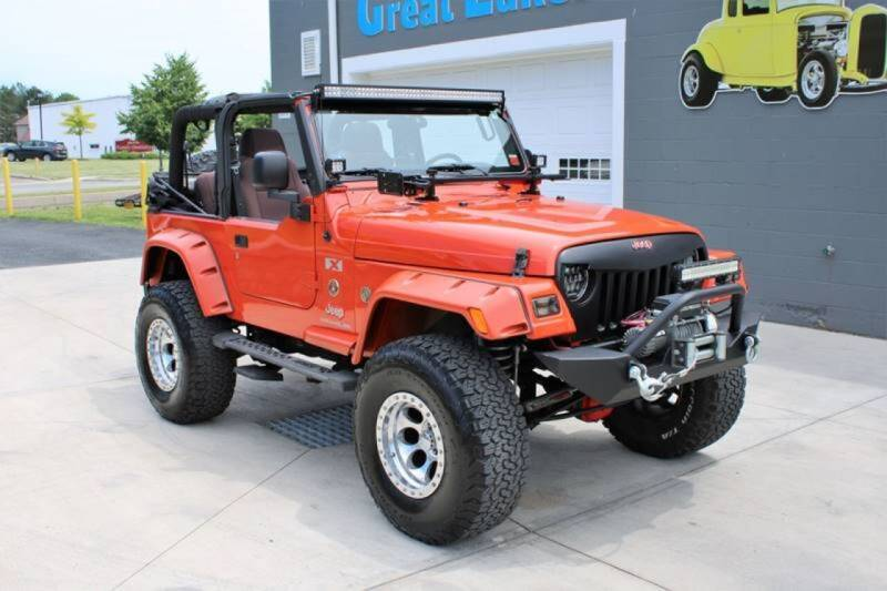 2005 Jeep Wrangler for sale at Great Lakes Classic Cars & Detail Shop in Hilton NY