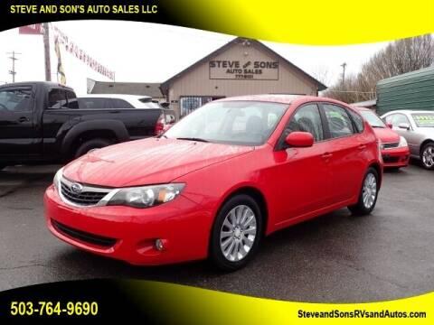 2009 Subaru Impreza for sale at Steve & Sons Auto Sales in Happy Valley OR