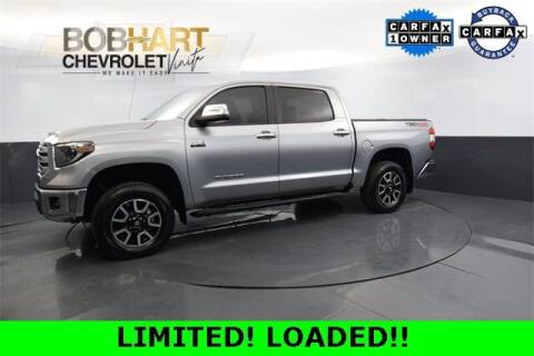 2019 Toyota Tundra for sale at BOB HART CHEVROLET in Vinita OK