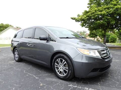 2013 Honda Odyssey for sale at SUPER DEAL MOTORS 441 in Hollywood FL