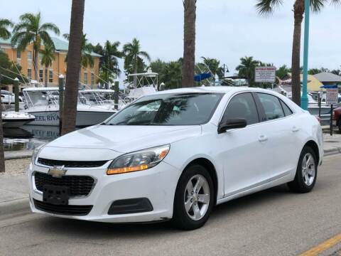 2014 Chevrolet Malibu for sale at L G AUTO SALES in Boynton Beach FL