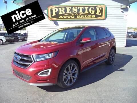 2016 Ford Edge for sale at PRESTIGE AUTO SALES in Spearfish SD