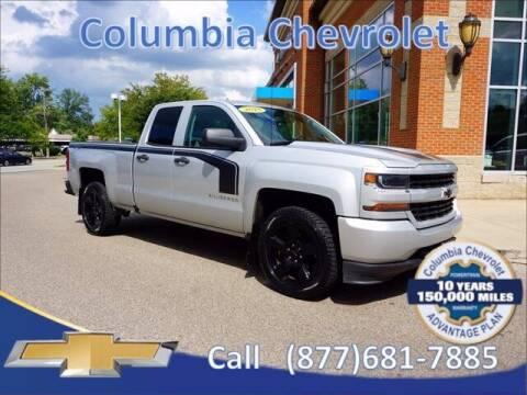 2018 Chevrolet Silverado 1500 for sale at COLUMBIA CHEVROLET in Cincinnati OH