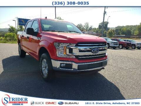 2020 Ford F-150 for sale at STRIDER BUICK GMC SUBARU in Asheboro NC