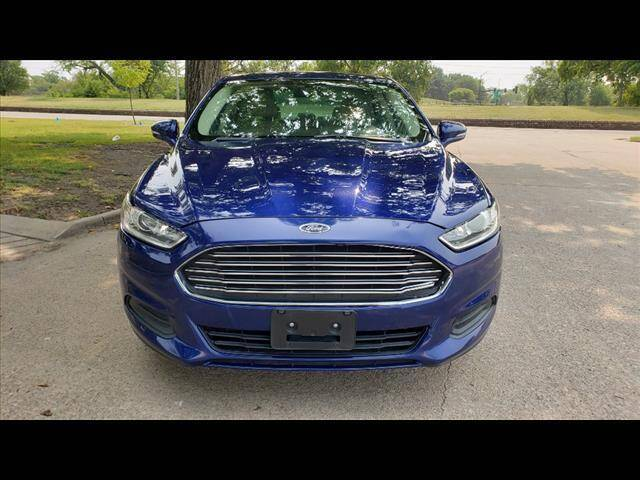 2015 Ford Fusion for sale at Euro-Tech Saab in Wichita KS