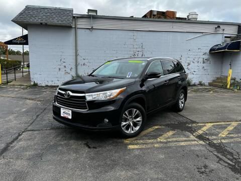 2015 Toyota Highlander for sale at Santa Motors Inc in Rochester NY