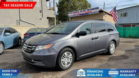 2014 Honda Odyssey for sale at San Diego Auto Traders in San Diego CA