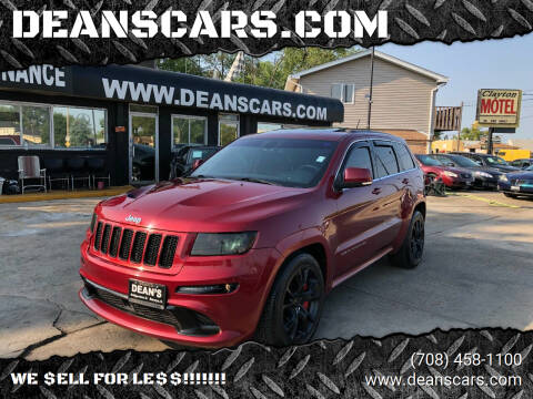 2012 Jeep Grand Cherokee for sale at DEANSCARS.COM in Bridgeview IL