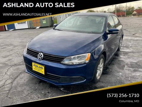2012 Volkswagen Jetta for sale at ASHLAND AUTO SALES in Columbia MO