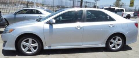 2012 Toyota Camry for sale at Luxor Motors Inc in Pacoima CA