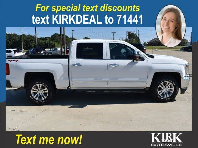 2018 Chevrolet Silverado 1500 for sale at Kirk Brothers Batesville in Batesville MS