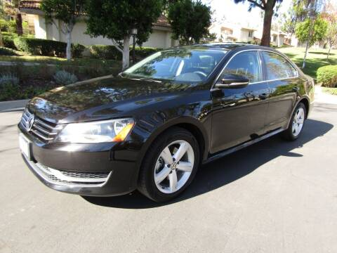 2012 Volkswagen Passat for sale at E MOTORCARS in Fullerton CA