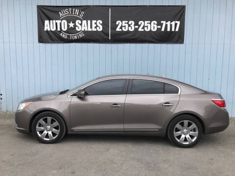 2010 Buick LaCrosse for sale at Austin's Auto Sales in Edgewood WA